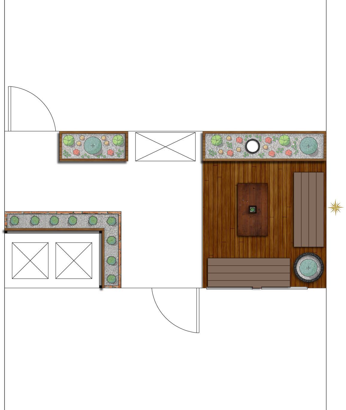 Tannenbaum Outdoor.Park Grove Patio Design Tannenbaum Design Group